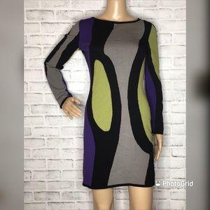 Missoni Sport vintage knit bodycon dress